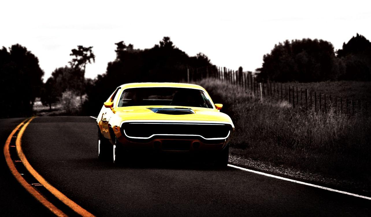 Фото бесплатно plymouth gtx, мускулкар, автомобиль, машины для мышц, машины