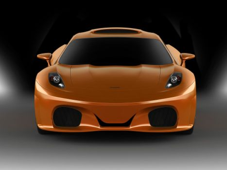 Фото бесплатно Ferrari Novitec TuLesto, оранжевый, суперкары