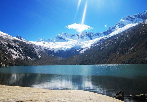 Photo free Lagoon, cordillera blanca, Per