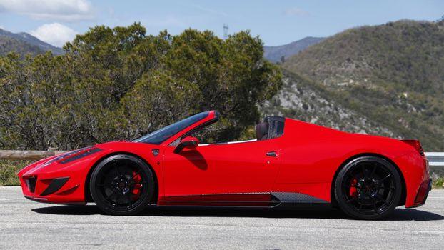 Бесплатные фото ferrari 458,суперкары,феррари,красные автомобили,автомобиль
