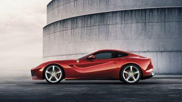 Фото бесплатно ferrari f12, red cars, ferrari