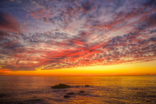 Фото бесплатно Sonoma Coast State Park, State of California, sea, summer, sunset, beach, seaside, landscape, shore, outdoor, ocean, water