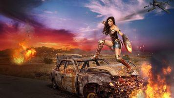 Бесплатные фото девушка воин,красотка,фантазия,фантастика,девушка с мечом