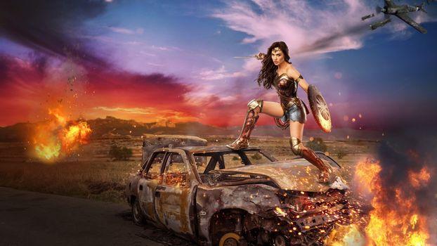 Photo free girl warrior, beauty, fantasy