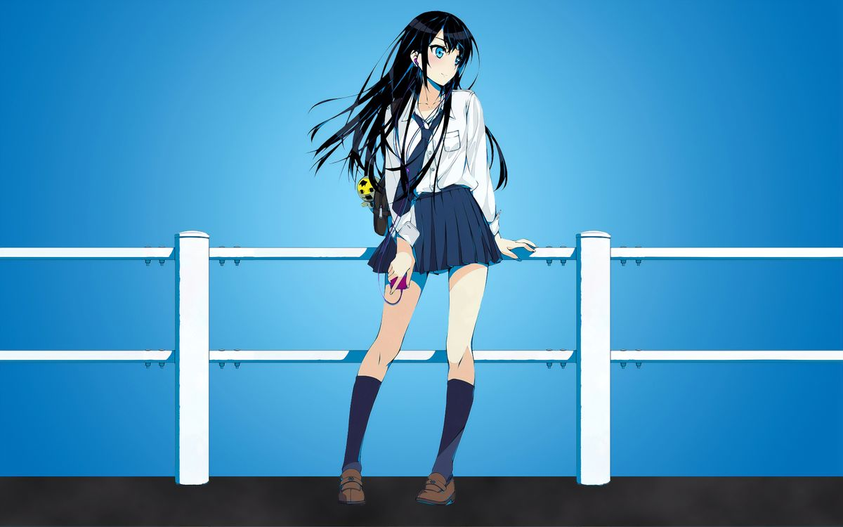 Фото бесплатно Anime Girl, Deviantart, произведения искусства - на рабочий стол