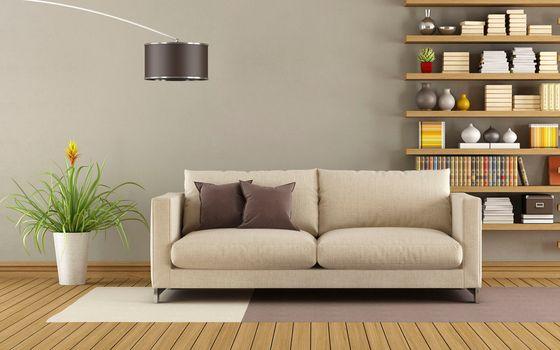 Photo free sofa, art nouveau, furniture