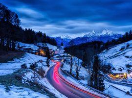 Заставки дорога, пейзаж, Berchtesgaden