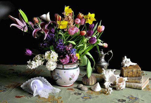 Заставки натюрморт, цветы, букет