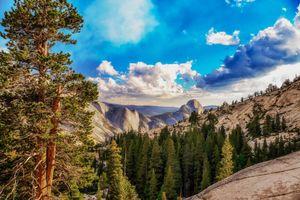Бесплатные фото Yosemite National Park,Калифорния,США,Йосемитский национальный парк,горы,деревья,пейзаж