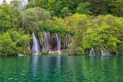 Photo free national Park Plitvice lakes, Plitvice lakes, Croatia