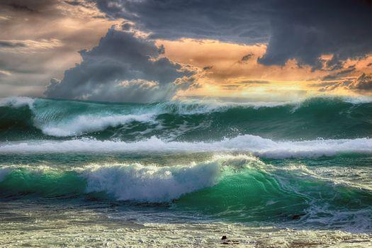 Photo free waves, sea, costa