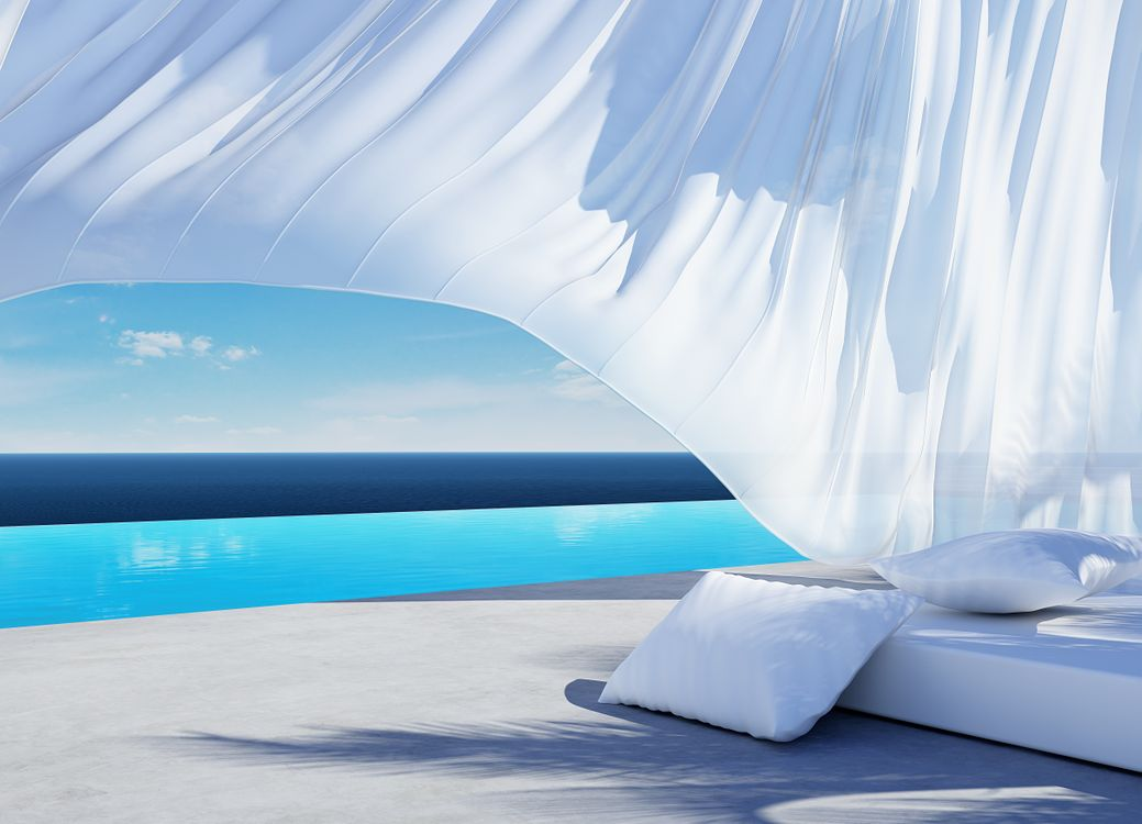 Photos for free bed, design, fabric - to the desktop
