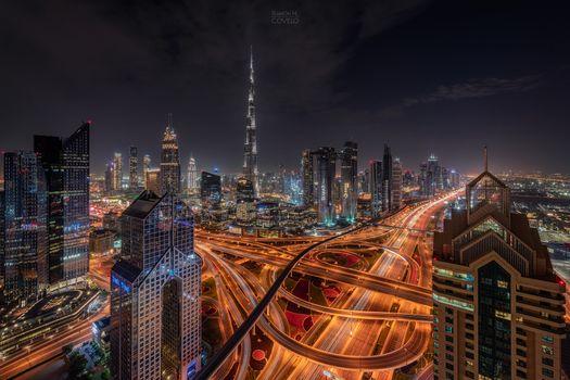 Photo free Dubai, United Arab Emirates, houses