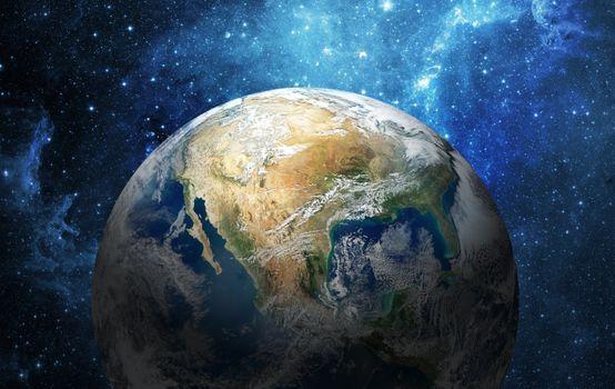 Фото бесплатно земля, туманность, вселенная