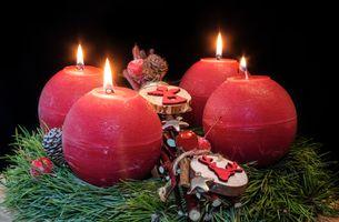 Фото бесплатно Рождество, обои, украшение