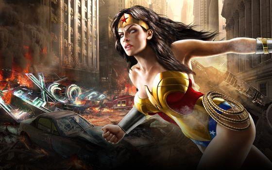 Фото бесплатно Амазонки, комиксы, Диана, греческая, герой, принцесса, Вселенная, Марвел, персонаж, женщина