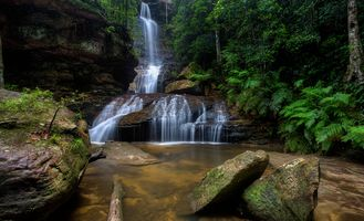 Заставки Blue Mountains National Park, New South Wales, Australia