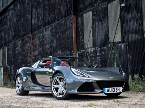 Photo free Lotus Exige S, Roadster, silver