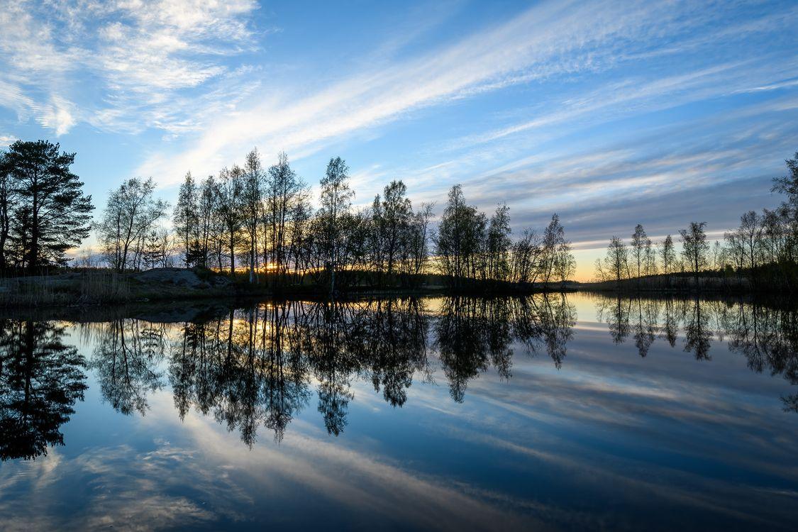 Фото бесплатно пейзаж, отражение, озеро - на рабочий стол