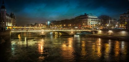 Фото бесплатно город, огни, Франция