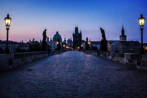 Фото бесплатно освещение, Прага, Пражский град