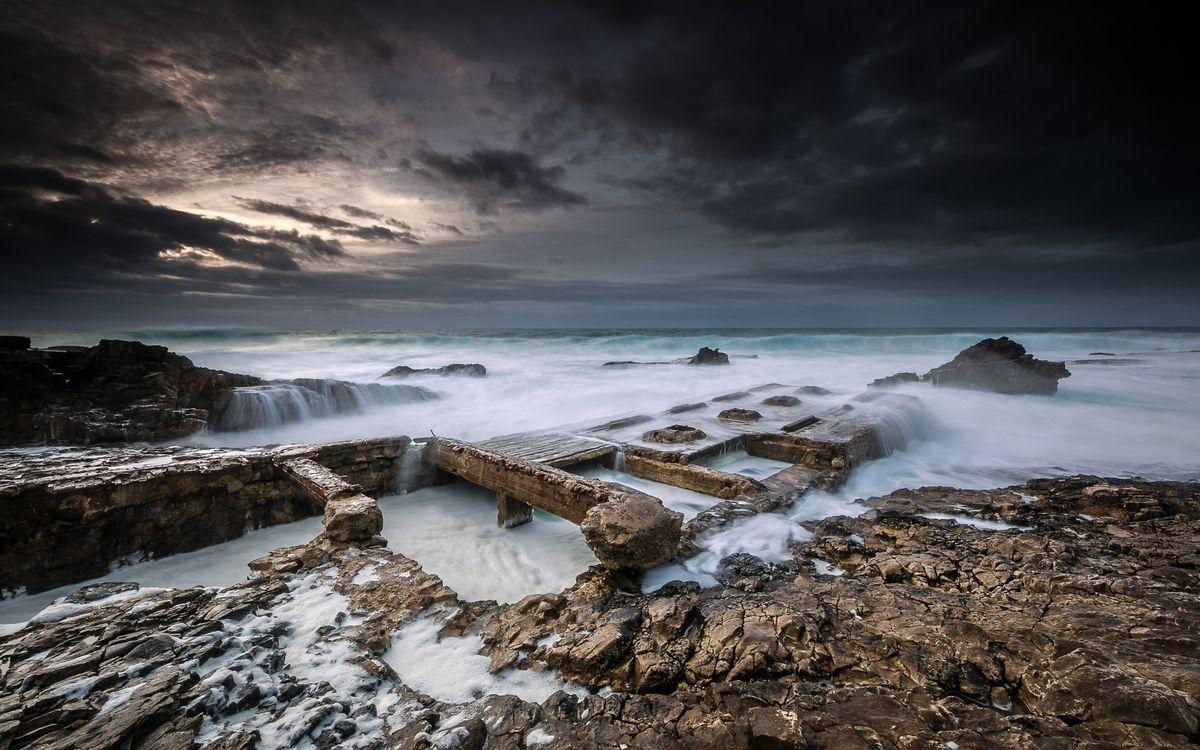 Обои Cabo Raso - Cascais, Portugal, seascape картинки на телефон