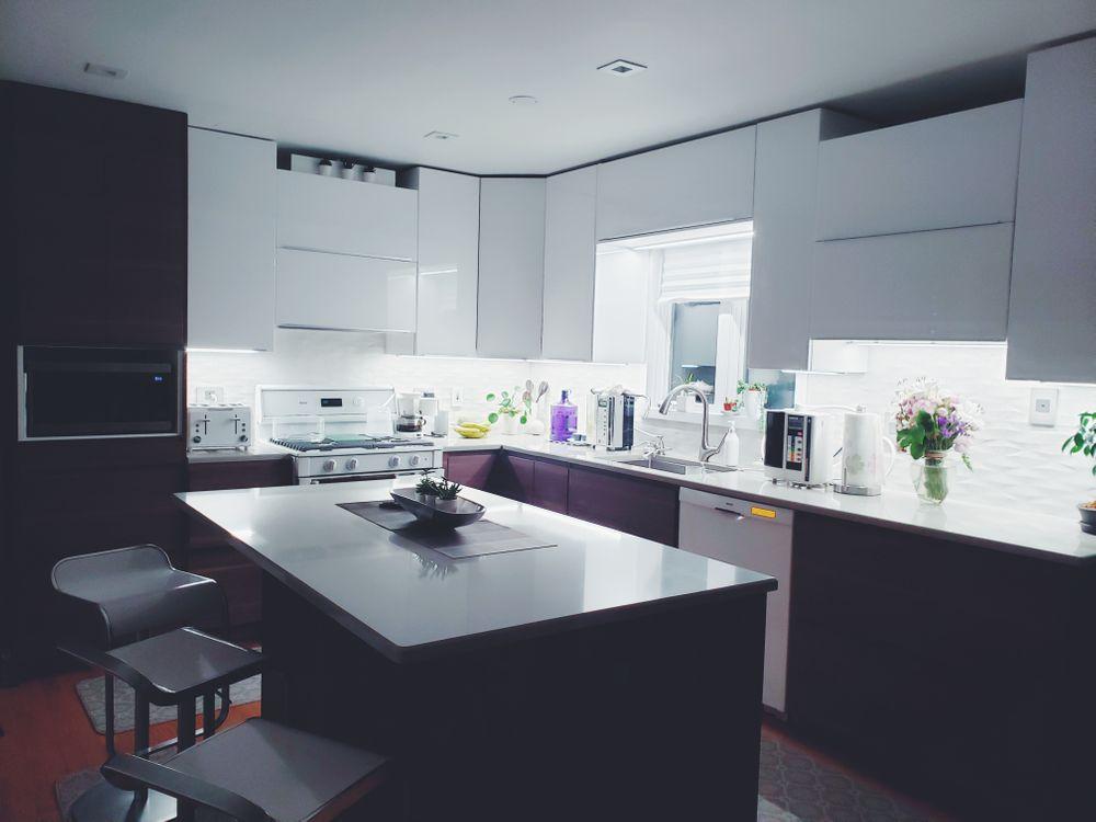 Photos for free kitchen, table, interior design - to the desktop