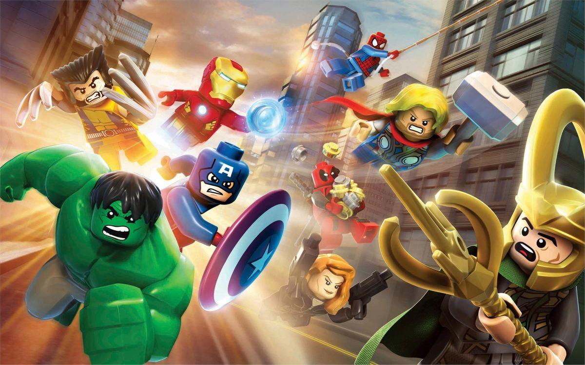 Фото бесплатно Lego, Супер Герои, Мультфильмы - на рабочий стол