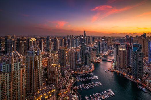 Photo free city, architecture, United Arab Emirates