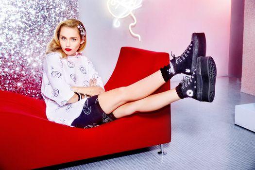 Photo free Miley Cyrus, celebrities, music