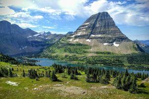 Фото бесплатно Hidden Lake, Glacier National Park, горы