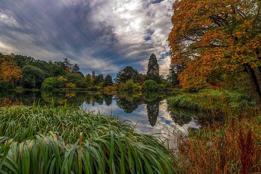Photo free northern ireland, lake, autumn