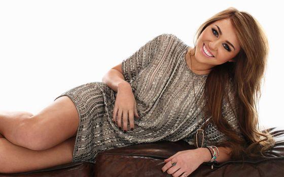 Фото бесплатно певица, Miley Cyrus, девушки