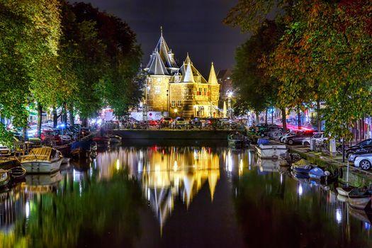 Фото бесплатно город, Нидерланды, лодка