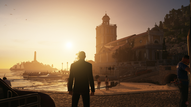 Бесплатные фото Hitman,видеоигры,восход солнца