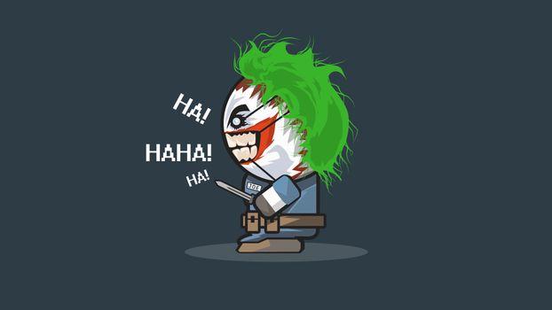 Photo free Joker is, superheroes, artist