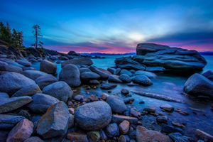 Фото бесплатно Lake Tahoe, Калифорния, озеро Тахо