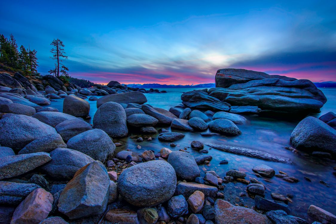Фото бесплатно Lake Tahoe, Калифорния, озеро Тахо - на рабочий стол