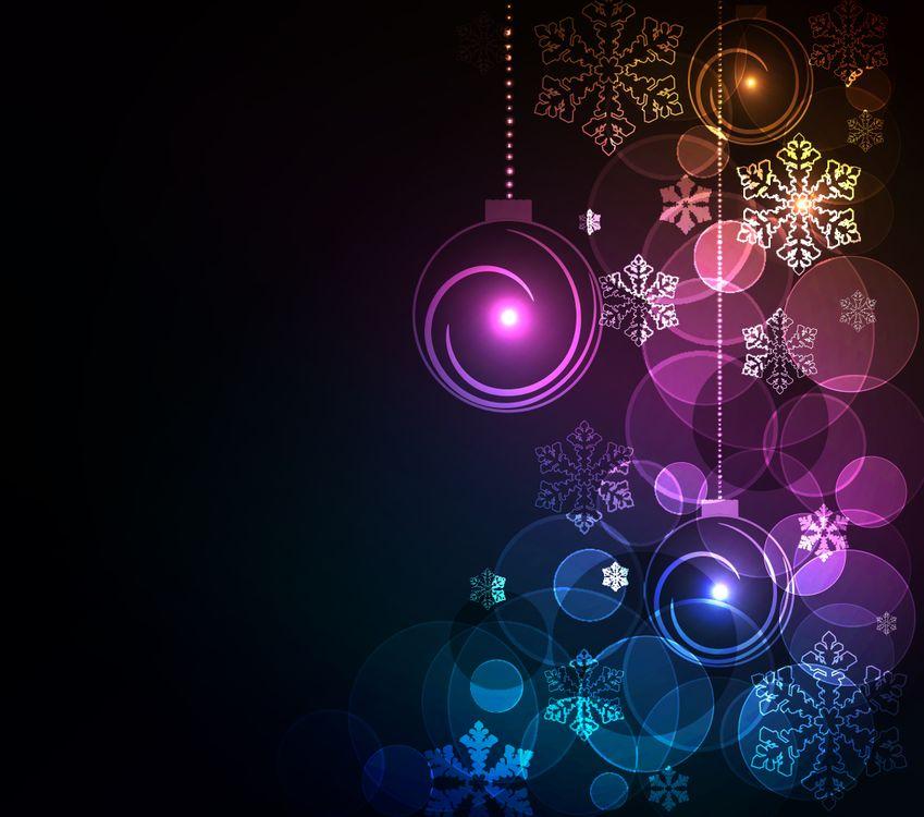 Фото бесплатно дизайн, новый год, элементы - на рабочий стол