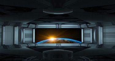 Заставки восход солнца, глобус, космический корабль