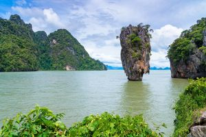 Заставки остров, Таиланд, Залив Пханг Нга в Тайланде