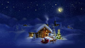 Фото бесплатно Счастливого Рождества, звезды, Рождество