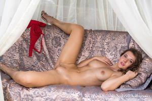 Photo free brunette, naked, sexy devushka