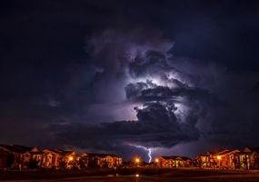 Фото бесплатно Молния в Норман, Оклахома, шторм
