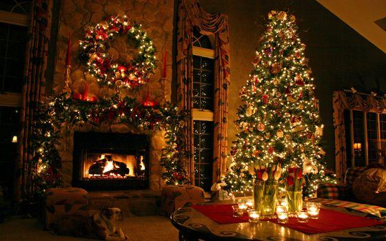 Заставки праздничный, сезонный, рождественский