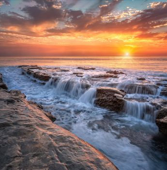Photo free Waterfall La Jolla, San Diego, California
