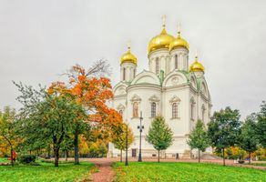 Святой Екатерининский собор в Царском Се