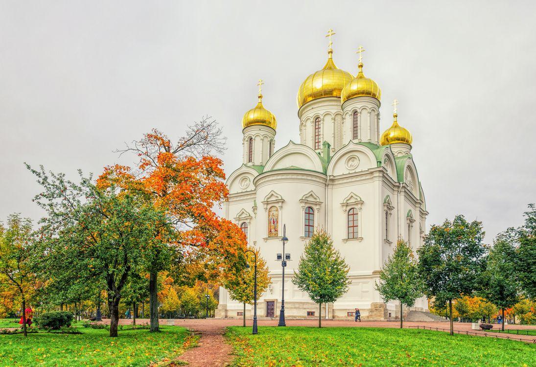 Святой Екатерининский собор в Царском Се · бесплатное фото