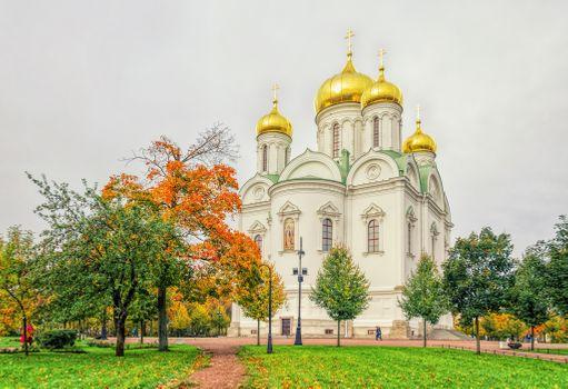 Свято-Екатерининский собор в Царском Се · бесплатное фото