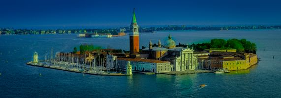 Бесплатные фото Isola di San Giorgio Maggiore,Венецианская провинция,Остров Сан-Джорджо-Маджоре,Италия,Венеция,панорама